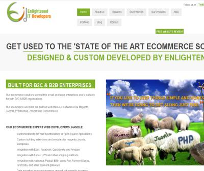 Ecommerce Websites Custom Design & Development By Expert Magento,Prestashop, & Joomla developers.