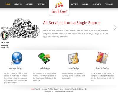 Website Design, Mobile Apps, Logo and Graphic Design services