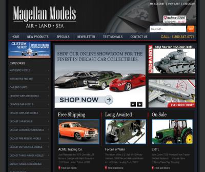 Magellan Models-  Handcrafted Airplane Models, Diecast Car Models and More!