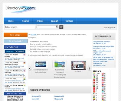VAV Web Directory Add your website