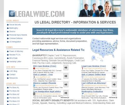 Legal Wide Directory