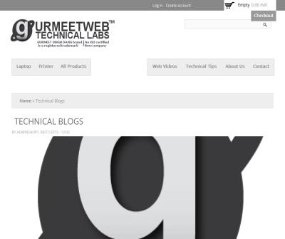 Technical Blogs By GURMEET SINGH DANG