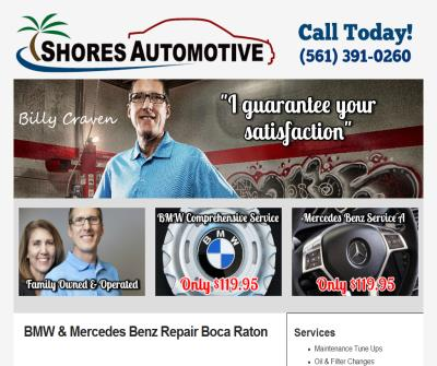 Shores Automotive Inc
