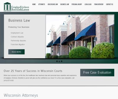 Gutglass, Erickson, Bonville and Larson Law Firm