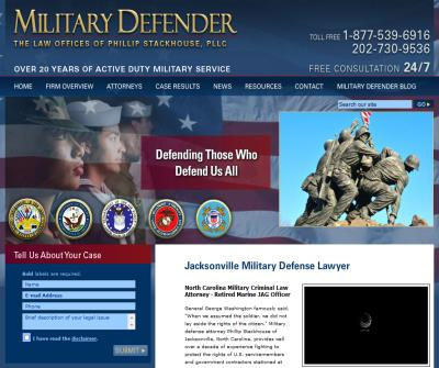 Jacksonville NC Military Defense Lawyer