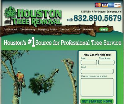 Houston Tree Removal Service