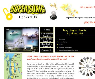 SuperSonic Locksmith
