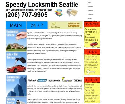 Speedy Locksmith