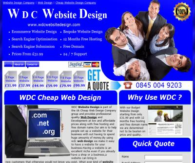 Wdc Cheap Website Design Company