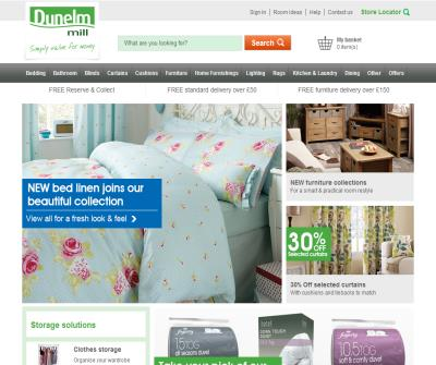 Dunelm Mill - Bedroom Furniture
