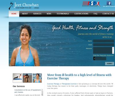 Nutritionist in Mumbai  Jeet Chowhan