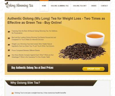 Oolong Slimming Tea