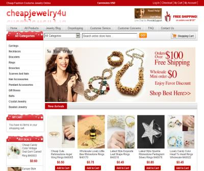 Wholesale Fashion Costume Jewelry Supplies Online With Cheap Pric