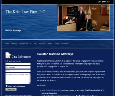 Texas Jones Act Lawyers