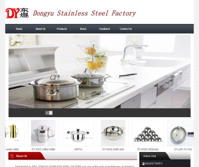 Stainless Steel Cookwares, Kitchenwares and Giftwares Manufacturer