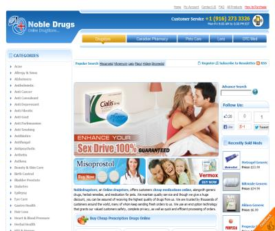 Nobledrugstore.com - Noble Drug Store Review, Noble drugstore Visit