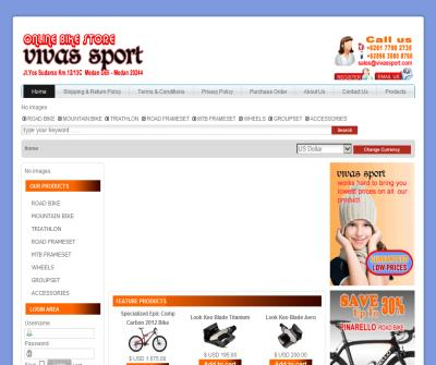 Online Bike Store Vivassport