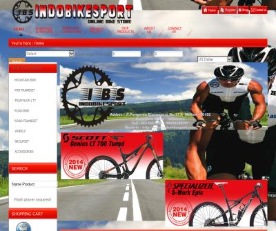 IndoBikeSport Online Bike Store