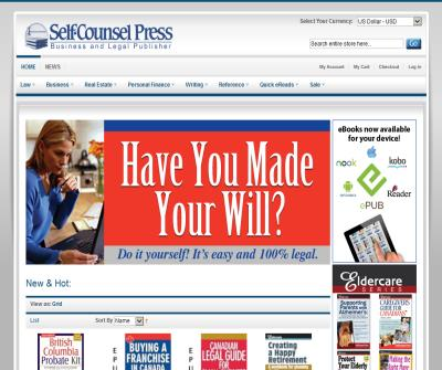 Self-Counsel Press Law Books & Legal Forms