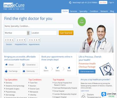 Find specialist Doctors | Book doctor appointment online
