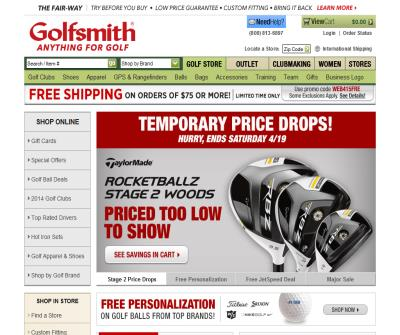 Golfsmith:Largest golf-only retailer in the world