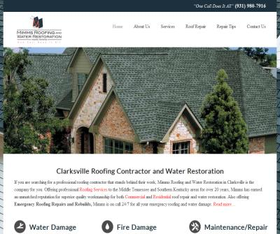 Mimms Roofing and Water Restoration