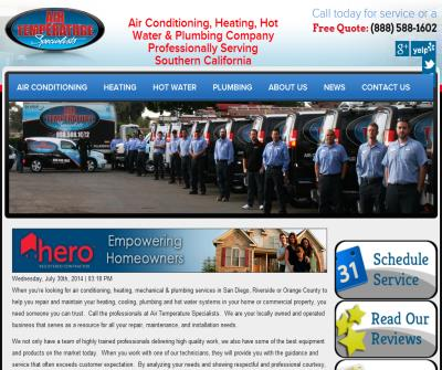 Air Conditioning and Heating Specialists