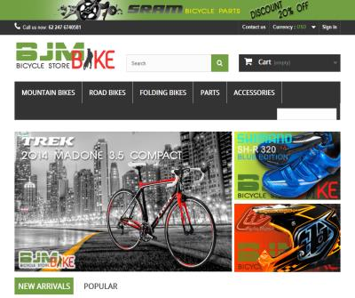 BJM Road Bikes, Mountain Bikes, Folding Bikes