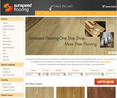 Sunspeed Flooring-Laminate Flooring Manufacturer