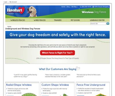 Havahart Wireless and In-ground Dog Fencing Systems