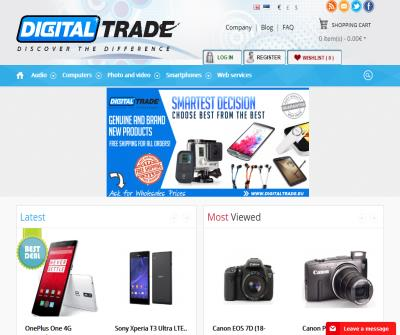 Digital Trade - Top-quality electronic gadgets