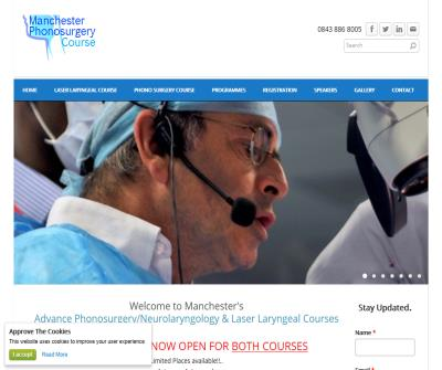Manchester Laryngology & Phonosugery Course.