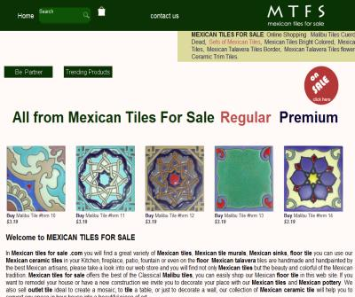 Mexican Talavera Tiles and Ceramic Sinks