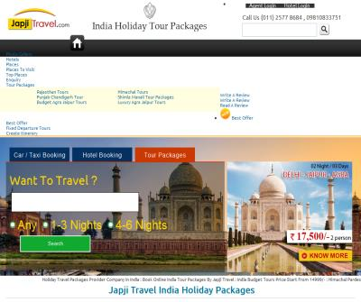 North India Tour Packages from Japji Travels
