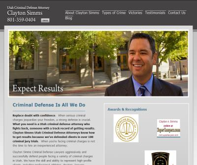Utah Criminal Defense Attorney, Clayton Simms