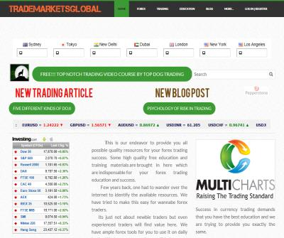 TradeMarketsGlobal Trader Forum and News