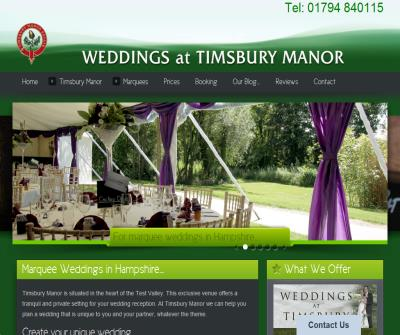 Timsbury Manor Weddings