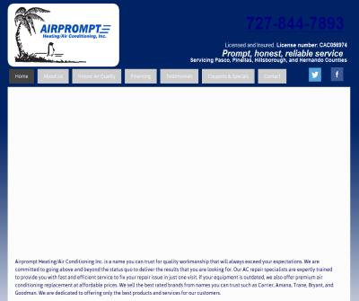 Airprompt Heating/Air Conditioning Inc