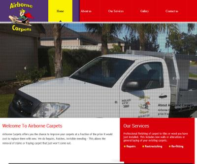 Airborne carpets Repairs and Installation
