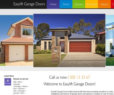 Easylift Garage Doors and Garage Openers