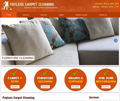 Payless carpet and upholstery cleaning