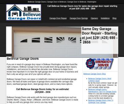 Bellevue Garage Doors