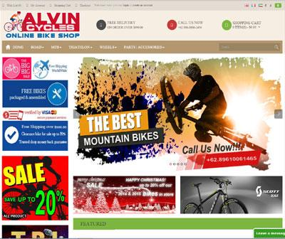 Alvin Cycles Bike Sales and Parts