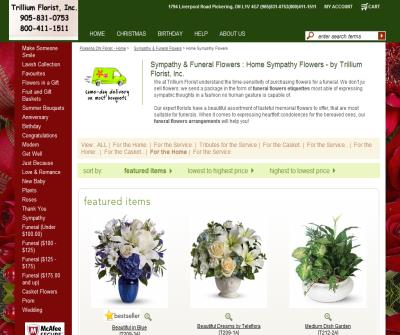 Funeral Flower Arrangements in Toronto