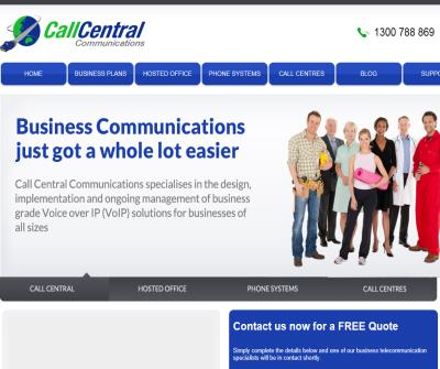 Call Central Communications VoIP Technologies into Australian Business