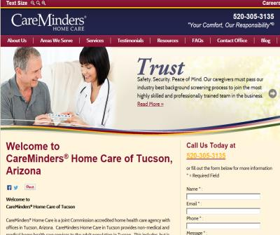 CareMinders Tucson | Home Care, Nursing, Caregivers, Health Care Services in Tucson, AZ 85719