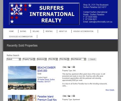 Surfers Realty