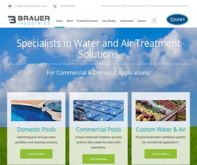 Brauer Industries - Specialists in Water & Air Treatment