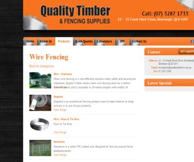 Quality Timber - Timber & Fencing Suppliers- Brisbane, Gold Coast