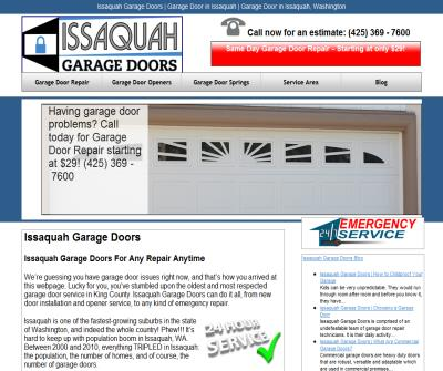 Issaquah Garage Doors